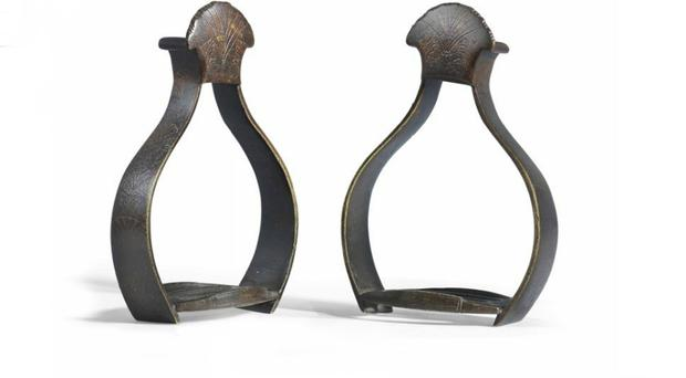 King Billy's stirrups may be old, but not everyone thinks they're beautiful - not £40,000 worth of beautiful, anyway