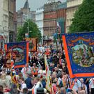 Marching on: Twelfth parades will wend their way through Belfast, as well as other cities, towns and villages