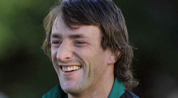Flashback: Neil Best during his days with Ireland
