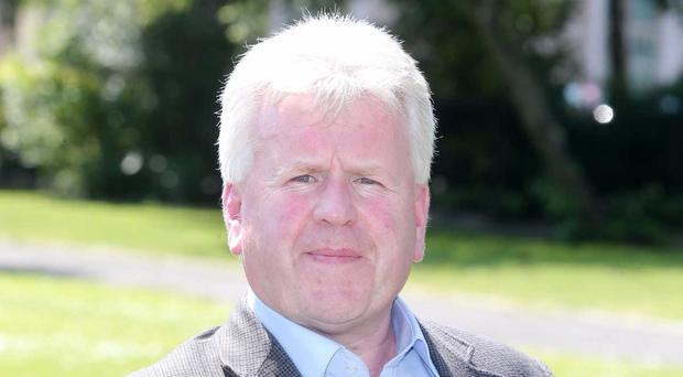 Ciaran McClean of the Green Party, Northern Ireland is seeking a judicial review of the DUP Tory deal. [Photo: Kelvin Boyes]