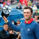 Jon Rahm has spoken of his love for the Portstewart course since winning the 2017 Irish Open.