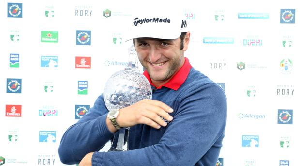 Rahm clinches maiden European Tour title at Irish Open