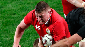 Battle hardened: Tadgh Furlong lived up to his reputation at Eden Park