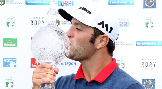 Spanish gold: Jon Rahm seals Irish Open glory