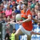 Job done: Paul Hughes hailed Armagh's qualifiers progress