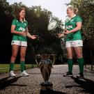 Having a ball: Nora Stapleton and Niamh Briggs
