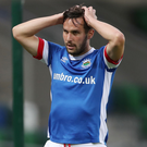 Huge task: Andy Waterworth acknowledges that Linfield will have their work cut out