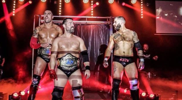 Over The Top's WrestleRama takes place at Belfast's Mandela Hall on Sunday, August 6.