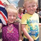 Jasmine and Jenson Leitch at the Twelfth in Beragh Picture Martin McKeown. Inpresspics.com. 12.07.17