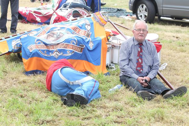 Sleepy 12th celebrations in the summer sunshine in Kilrea. Picture: Matt Bohill, Pacemaker, 12-07-2017
