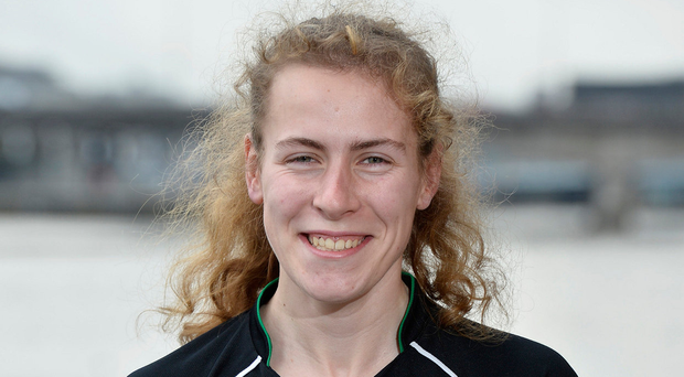 Standing out: Amy Rothwell is impressing in Ballycastle. Photo: Presseye/Stephen Hamilton
