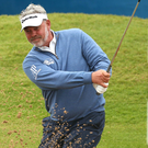 Darren Clarke could miss out on teeing it up at Birkdale next week.