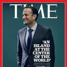 Leo Varadkar on the cover of Time magazine