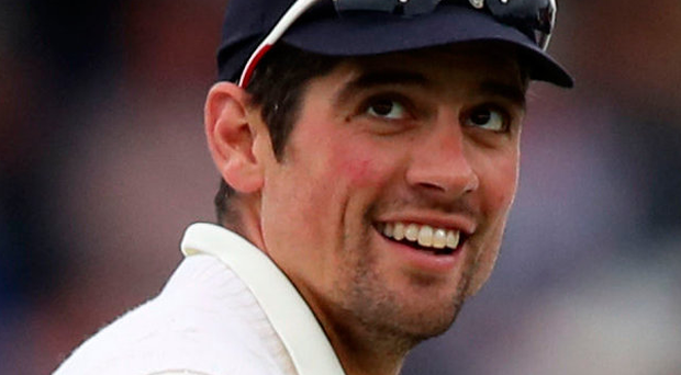 Straight bat: Alastair Cook remains a talented cricketer