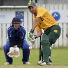 Ton up: North Down's Ruan Pretorius hit another century