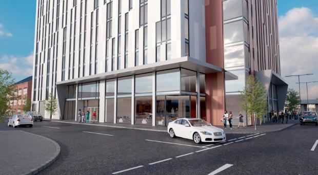 What the Little Patrick Street development could look like when completed