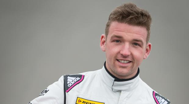 Fast track: Chris Smiley in his racing gear