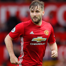 Hungry: Luke Shaw is keen to overcome his latest injury
