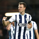Jonny Evans will captain West Bromwich Albion next season.