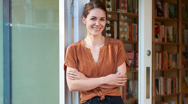 Write on: Belfast-born Aimee Madill outside her new London bookshop