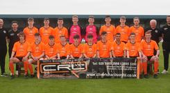 The County Armagh Premier Squad are all set for the SuperCupNI.