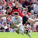 Patience: Tiernan McCann says Tyrone can wait to discover All-Ireland rivals. Photo: Morgan Treacy/INPHO