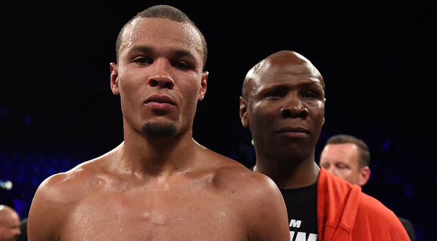 That's my boy: Chris Eubank (left) and Chris Eubank. Photo: Leigh Dawney/Getty Images