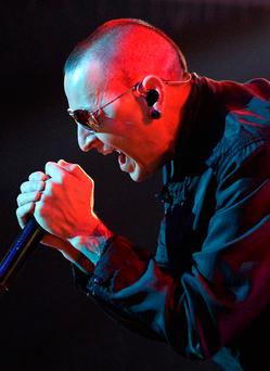 FILE JULY 20: Musician Chester Bennington of Linkin Park has died July 20, 2017 at his home in Palos Verdes Estates, California. (Photo by Ethan Miller/Getty Images)