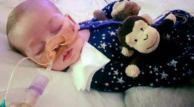 Charlie Gard suffers from a rare genetic condition
