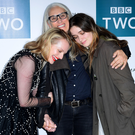 Bond: from left, Elisabeth Moss, director Jane Campion and Alice Englert