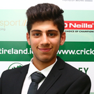 Experienced: Coleraine's Varun Chopra is in the Ireland squad. Photo: Cathal Noonan/INPHO