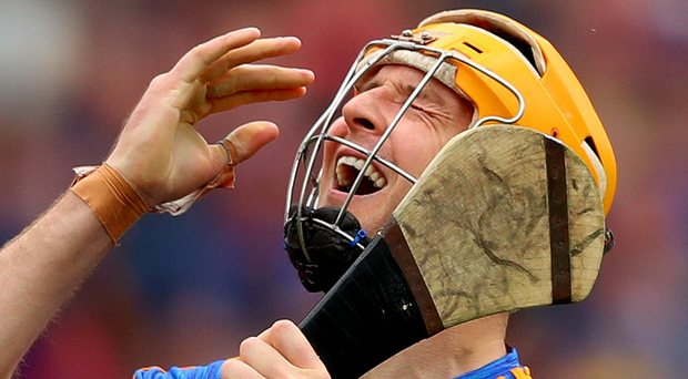 On edge: Tipperary's Seamus Callanan may miss semi final. Photo: James Crombie/INPHO