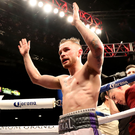 Planning ahead: Carl Frampton hopes to set up a shot at Lee Selby. Photo: William Cherry/Presseye