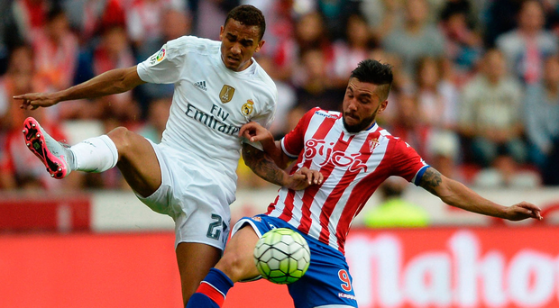 Pepped up: Danilo is delighted to be joining City