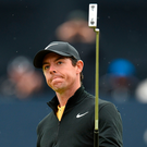 Wild rounds: Rory McIlroy battled back to tie for fourth place. Photo: Getty Images