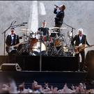 U2 on stage at Croke Park