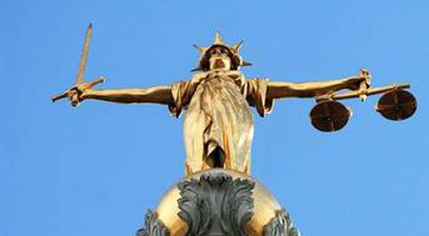 A 14-year-old girl was allegedly plied with drugs and raped after getting into a car in west Belfast, the High Court has heard.