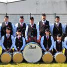 Killen Pipe Band in its heyday