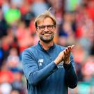 Optimistic: Jurgen Klopp