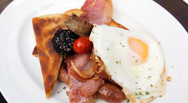 The price of an Ulster Fry could soar after Brexit, according to economists