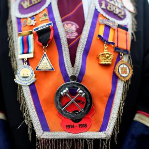 Members must go through a 'journey' before they can wear the sash.