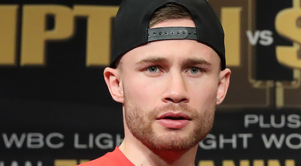 Carl Frampton is eyeing another blockbuster night in Las Vegas. Photo: William Cherry/Presseye