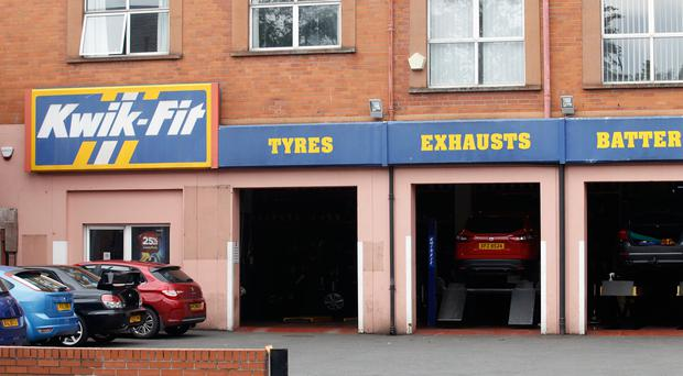 Kwik-Fit garage on the Lisburn Road in Belfast has been in business for 25 years