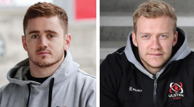 Irish internationals Paddy Jackson and Stuart Olding deny the charges