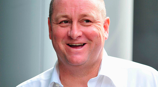 Newcastle United owner and Sports Direct boss Mike Ashley. Photo: Nick Ansell/PA