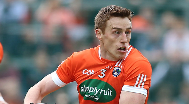 Wise head: Charlie Vernon's experience and craft can bolster Armagh's challenge against Kildare. Photo: Presseye