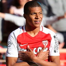 No deal has been reached for Monaco striker Kylian Mbappe. Photo: Getty Images