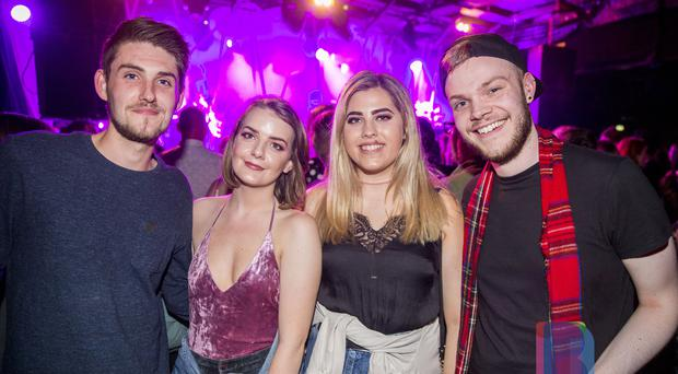 People out at Limelight to see Kate Nash. Wednesday 26th July 2017. Liam McBurney/RAZORPIX