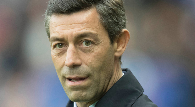 In control: Pedro Caixinha. Photo: Getty Images