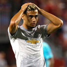 Bright spark: Andreas Pereira has been impressing during United's pre-season tour of America. Photo: Patrick Smith/Getty Images